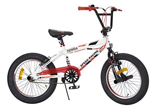 TOIMSA - Bicicleta BMX Freestyle de 18 Pulgadas