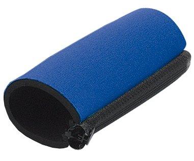 Griffpolster in blau universal für Krücke, mit Reißverschluß - Handpolster, Krückenpolster - Lieferung im Paar