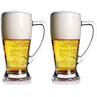 Taza De Cerveza, Taza De Cerveza De Cristal Engrosada Grande, Taza De Vidrio De