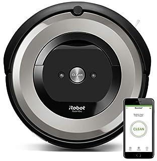 iRobot Roomba e5154 - Robot Aspirador Óptimo Mascotas, Succión 5 Veces Superior, Cepillos de Goma Antienredos, Sensores Dirt Detect, Suelos Duros y Alfombras, Wifi, Programable App, compatible Alexa (B07FQNN2MB) | Amazon Products