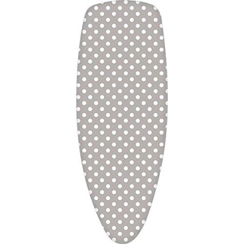 FINLANDEK Housse de table a repasser Koitere pour plateau 120x38 cm gris et blanc