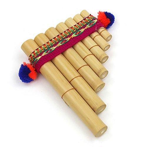 Fair Trade Pfanne Rohre-PERCUSSION einfach zu Verwendung Wind Instrumente Mini