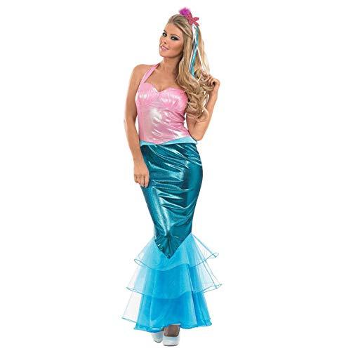 Fun Shack Damen Costume Kostüm Mermaid, Women: 8-10