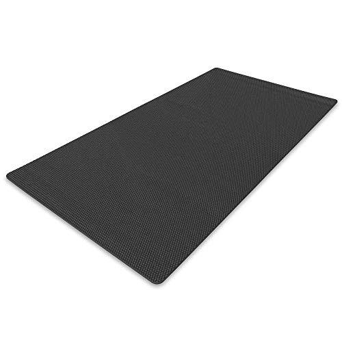 Protect Floor Unterlegmatte Bodenschutzmatte Multifunktionsmatte für Fitnessgeräte Heimtrainer Crosstrainer (60 x 120 cm)