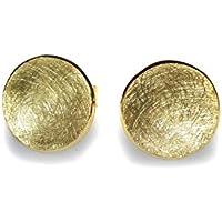 Ohrstecker rund in Gold 750/-