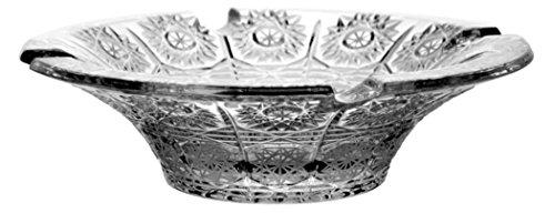 Cenicero de Cristal al Plomo, diseño de Estrella, de Pintura, Muy Exclusiv
