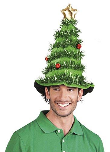 Preisvergleich Produktbild erdbeerclown - Weihnachtsdeko Mütze Hut Weihnachten Tannenbaum,  Grün