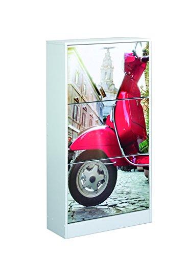 Kit Closet 4010140007 - Schuhregal, Design Motorrad