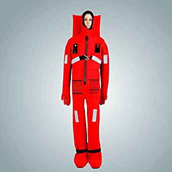 SHM Immersion Suit , Crimson I1, Solas Approved, Wheel Marked
