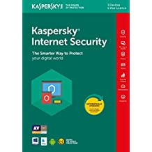 Kaspersky Internet Security 2019 | 3 Devices | 1 Year | PC/Mac/Android | Online Code