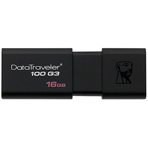 Kingston DT100G3/16GB DataTraveler 100 G3 Clé USB 3.0 - 16GB