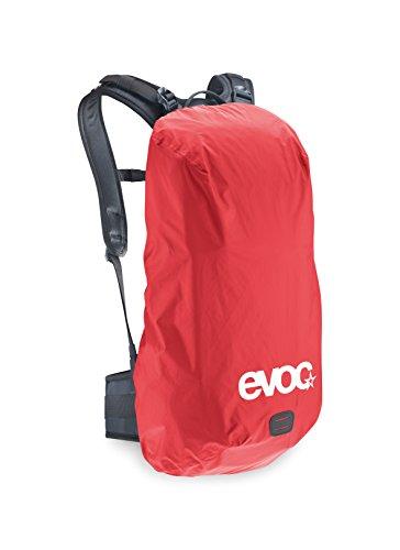 EVOC - Protezione antipioggia per zaino, 25-45litri, 70 x 35 x 25 cm, Rosso (rosso), 70 x 35 x 25 cm Rosso - rosso