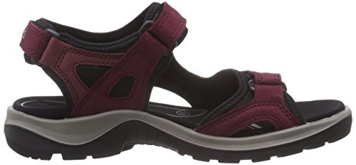 Ecco ECCO OFFROAD, Damen Sport- & Outdoor Sandalen, Violett (59277morillo/port/black), 39 EU (6 UK) -