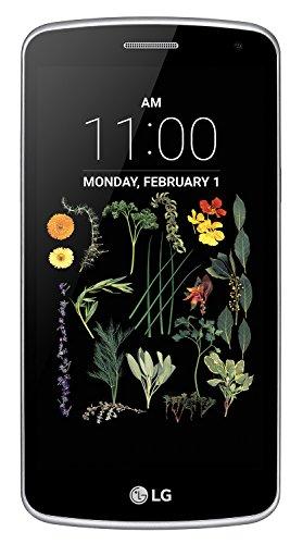 """LG K5 Smartphone, Display IPS 5.0"""", 4G LTE, Fotocamera 5MP con Frontale 2MP, Memoria Interna 8 GB, 1 GB RAM, Titanio [Italia]"""