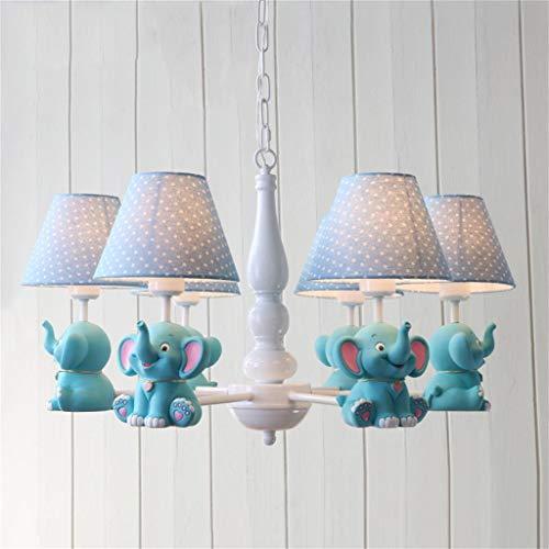 BAIF Candelabros de Elefantes para niños, decoración de la habitación de los...
