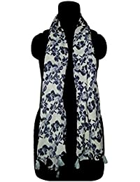 lifeu Floral Printed Stole For Women