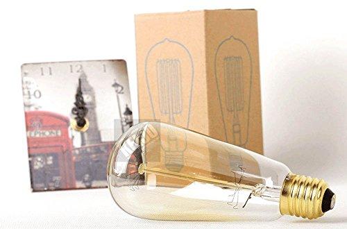 FSLiving 6 - pack: alte 60 - watt - glühbirne antike edison e26 basis dimmbar vorgesehenen glühlampen