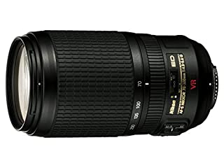 Nikon AF-S VR 70-300mm F4.5-5.6 G - Objetivo para Nikon (Distancia Focal 70-300mm, Apertura f/4,5, estabilizador de Imagen) Color Negro (B000HJPK2C) | Amazon price tracker / tracking, Amazon price history charts, Amazon price watches, Amazon price drop alerts