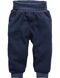 Schnizler Unisex Baby Jogginghose Pump-Hose, Fleecehose mit Strickbund
