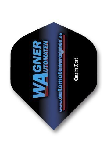 Dart-Flight-Set:Standard,Polyester extra strong von Wagner Automaten