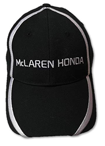McLaren Honda F1 Team J.Button & F.Alonso - Gorra, Color Negro