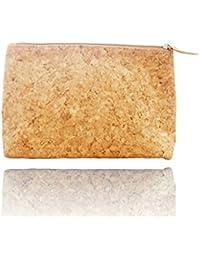 Cork Cosmetic Bag Makeup Organizer Toiletry Storage Brush Rolls Holders Gadget Pouch Makeup Bag Zip Pouch Zipper...