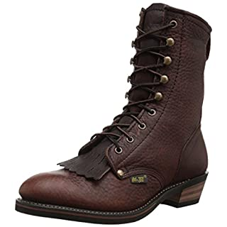Adtec Men's 9 Inch Packer Boot, Chestnut, 9 M US