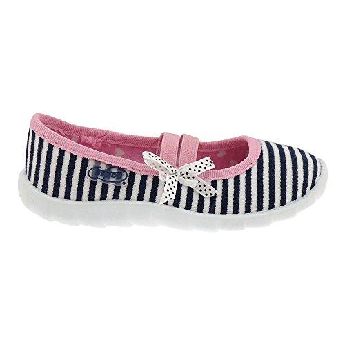 Gallux - Mädchen Hausschuhe Schuhe schöne Ballerinas Weiß