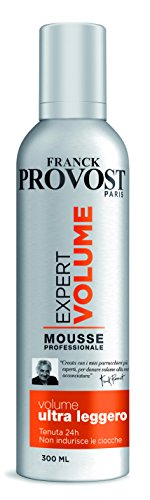 Franck Provost Expert Volume Mousse Styling Professionale Fissaggio Iper-Forte, 300 ml