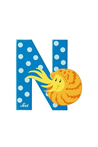 Trudi 81614 - Buchstabe Nautilus N