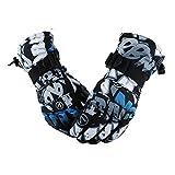 Gants professionnels Une paire de protection unisexe ski équitation hiver sports de plein air épaissie Splashproof gants chauds coupe-vent, taille: M Fournitures d'outils de sécurité (SKU : Og1530b)
