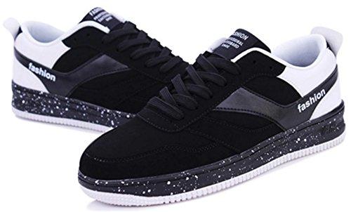 DADAWEN Chaussures de Running Entrainement Mixte Adulte/Baskets mode mixte adulte Noir