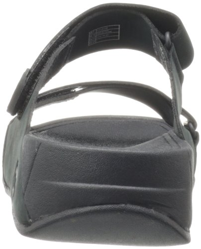 Fitflop Gogh Slide Adjustable, Sandales Homme Noir