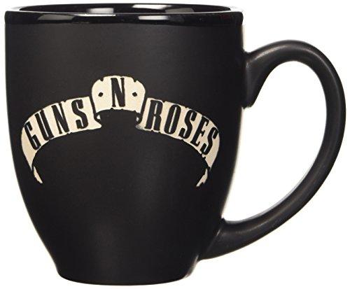 Lasgo Guns N' Roses Tazza Logo, Ceramica, Multicolore, 15.8x9.4x9.4 cm