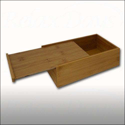 Taschentuchbox aus Bambus - 2