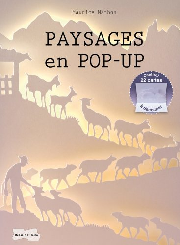 Paysages en Pop-up (Initiations) por Maurice MATHON