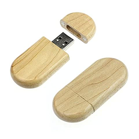 Bluestercool 4Go / 8Go / 16Go / 32Go / 64Go USB2.0 haute vitesse en bois de style de stockage Flash lecteur Memory Stick (4GB)