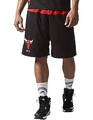 Adidas Smr Rn Rev Shrt Chicago Bulls Basketball, Shorts