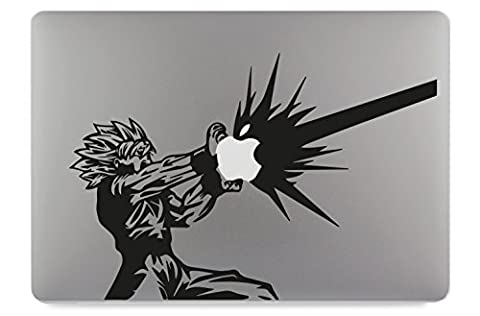 DragonBall Son Goku KameHa DBZ Apple MacBook Air Pro Aufkleber Skin Decal Sticker Vinyl (15