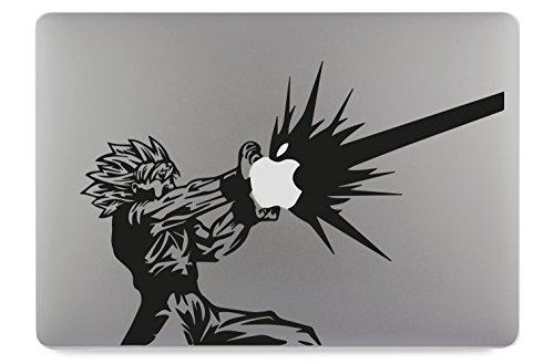 DragonBall Son Goku KameHa DBZ Apple MacBook Air Pro Aufkleber Skin Decal Sticker Vinyl (11