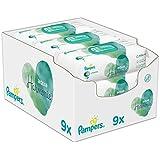 Pampers Aqua Pure Feuchttücher, 9Packungen, 432Feuchttücher