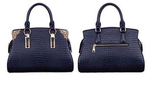 Damen Handtaschen Handtaschen Umhängetasche Krokodil Muster Leder Handtaschen Europa Und Die Vereinigten Staaten Fashion Elegant Einfache Diagonale Paket B