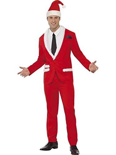 Nikolaus Anzug Cool Suite Santa Kostüm Weihnachten Xmas Gr L