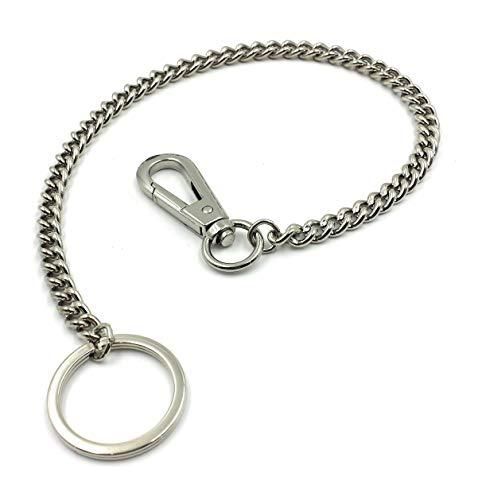 FJR-ArtPiel - Llavero cadena metal mosquetón
