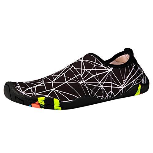 Yvelands Schuhe Strandschuhe Schwimmen Schuhe Wasser Schuhe Barefoot Quick Dry Aqua Schwimmen (Weiß(Damen),40)