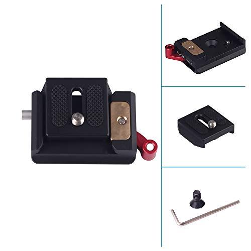 Yunchenghe WARAXE 1633 Arretierknopf Arca-Swiss Standard-Schnellwechselplatte (schwarz)