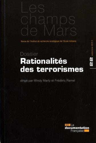 Rationalités et terrorismes (Champs de Mars n° 22) par Institut de recherche stratégique de l'Ecole militaire (IRSEM)