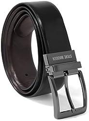 Steve Madden mens Dress Casual Every Day Leather Belt Belt