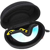 Haokaini Estuche de Almacenamiento para Esquí Gafas de Snowboard Gafas de Protección Rígida Eva Estuche con Cremallera
