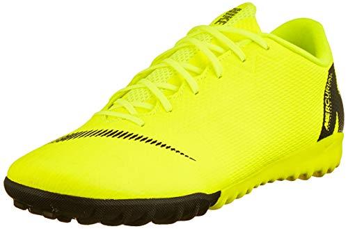 Nike Herren Mercurial Vapor XII Pro FG Fußballschuhe Grau (Wolf Grey/Lt Crimson-Pure Plat 060) 44.5 EU (Nike Tempo Schuhe Fußball)